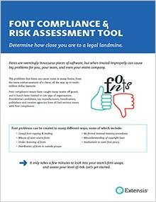 Font Compliance & Risk Assessment Tool